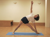 Standing Poses from Continuing Class, Dec 19, 2014