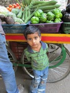 Vendor's boy
